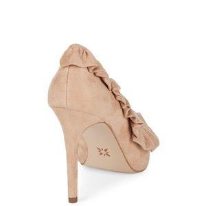 BCBGeneration Shoes - BCBGeneration Hana ruffled pointed toe pumps 6.5